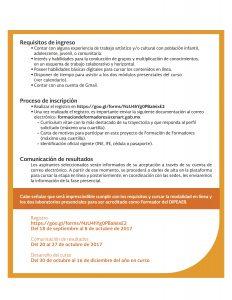 Michoacan - Convocatoria FdF CENART (1)2